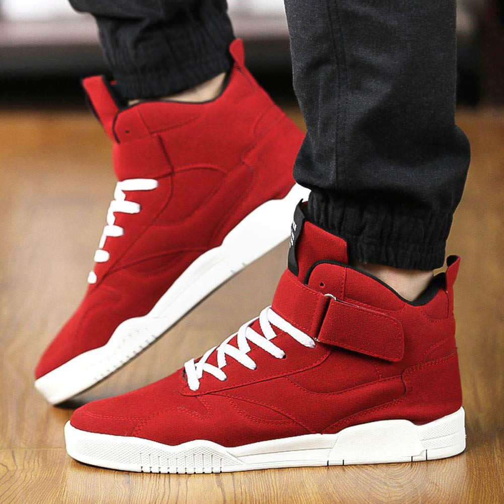 SCHOLIEBEN Calzado Deportivo Casual para Hombre Zapatillas Antideslizantes Resistentes Al Desgaste Zapatillas C/óModas