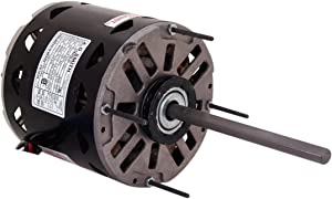 A.O. Smith 7FD1056 1/2 HP, 1075 RPM, 3 Speed, 277 Volts2.2 Amps, 48 Frame, Sleeve Bearing Direct Drive Blower Motor
