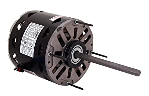 A.O. Smith FDL1056 1/2 HP, 1075 RPM, 3 Speed, 115 Volts5.6 Amps, 48 Frame, Sleeve Bearing Direct Drive Blower Motor