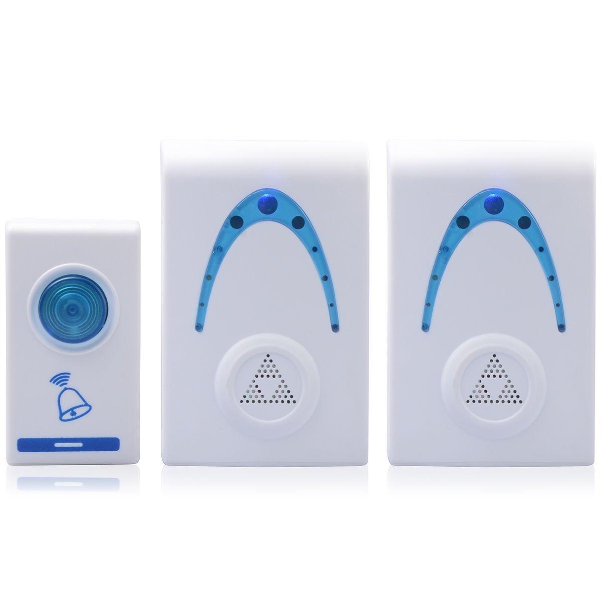 qgstar modelo 503 K3 Premium portátiles timbre inalámbrico ...