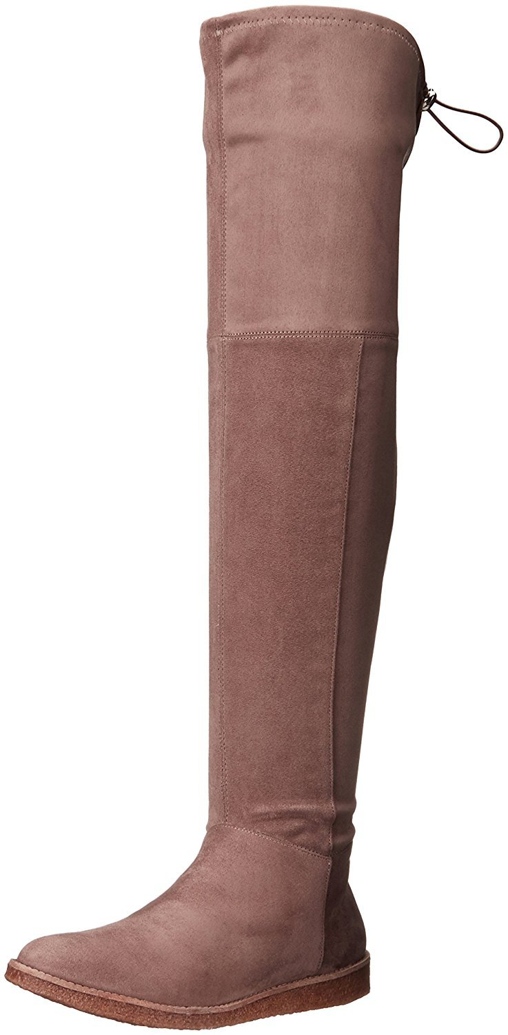 BCBGeneration Women's Brennan Slouch Boot, Taupe, 8.5 M US