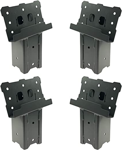 Amazon Com Highwild Platform Brackets Multi Use 4x4 Compound Angle Brackets For Deer Stand Hunting Blinds Observation Decks Outdoor Platforms Set Of 4 Sports Outdoors Tv stand bracket mount malaysia's best boards. highwild platform brackets multi use 4x4 compound angle brackets for deer stand hunting blinds observation decks outdoor platforms set of 4