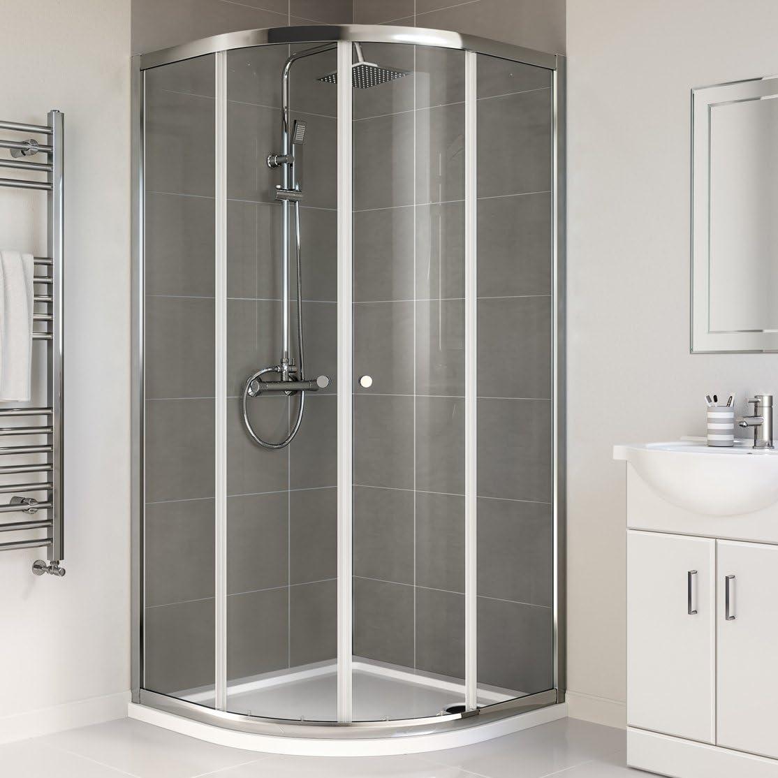 800 x 800 mm mampara de ducha: iBath: Amazon.es: Bricolaje y ...