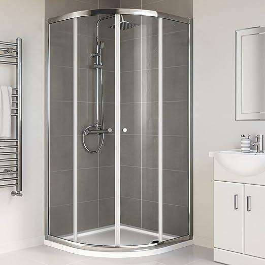800 x 800 mm mampara de ducha: iBath: Amazon.es: Bricolaje y herramientas