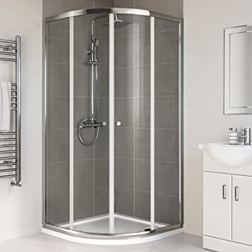 900 X 900 Mm Designer Quadrant Sliding Door Glass Corner Shower Enclosure