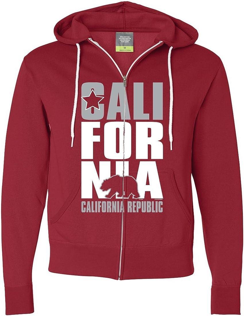 Dolphin Shirt Co California Republic Silver Zip-Up Hoodie