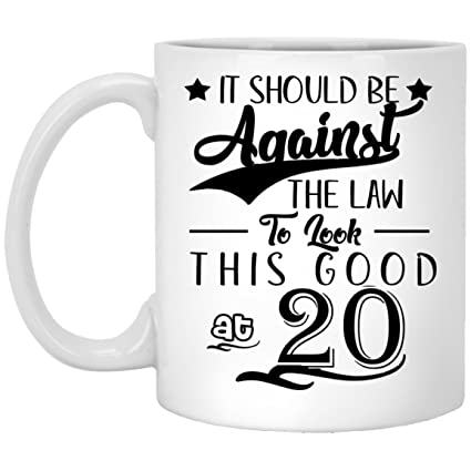 20th Birthday Gifts For Women Eighty Years Old Men Gift Happy Funny 20 Mens Womens Womans