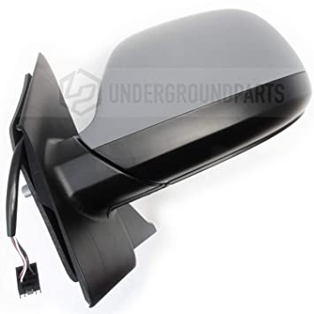 facelift RIGHT DRIVER  SIDE VW CARAVELLE T5 2010-2015 HEATER MIRROR GLASS