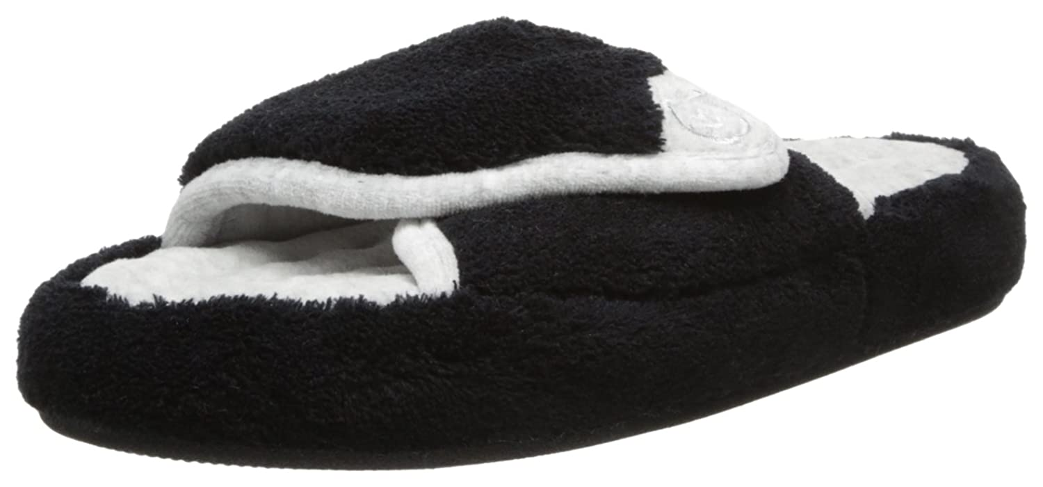 Amazon.com | ISOTONER Women's Terry Spa Slip On Slide Slipper with Memory  Foam for Indoor/Outdoor Comfort | Shoes