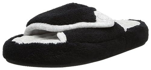 1327922d0cd92 Isotoner Women s Microterry Pillowstep Spa Slide Slipper Slipper ...