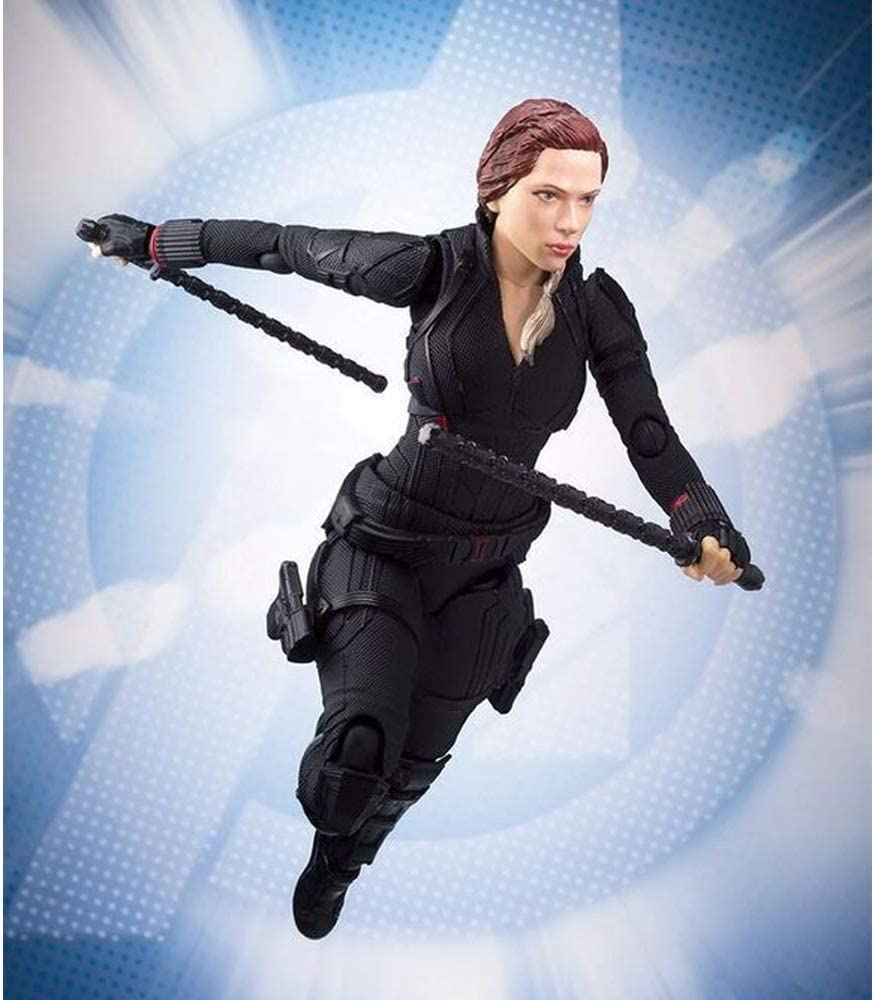 YWEIWEI Black Widow Sammelfiguren/Model Avengers Figur Boxed Statue Spielzeug 15cm