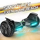 TOMOLOO Hoverboard, Electric Self Balancing Smart Scooter, UL 2272 Certified Hover Board 8.5 Off Road Two-Wheel with Bluetooth Speaker and LED Light.