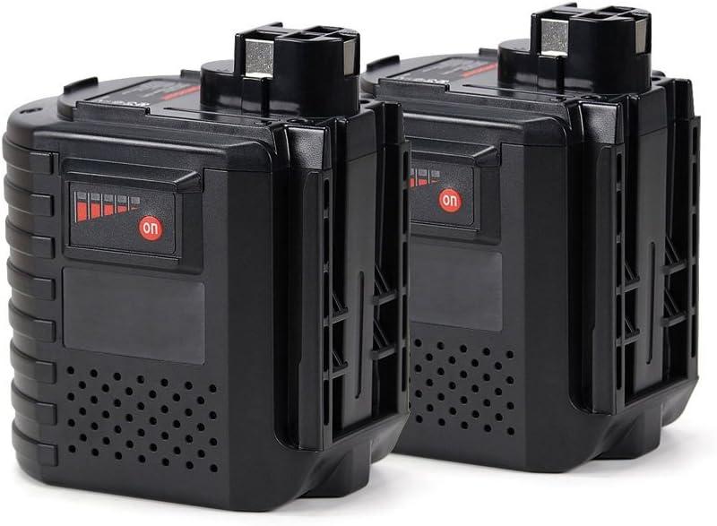 POWERGIANT 2pcs 24V 3.0Ah Ni-MH Batería para Bosch GBH 24V, GBH 24VFR, GBH 24VRE, WURTH 24V