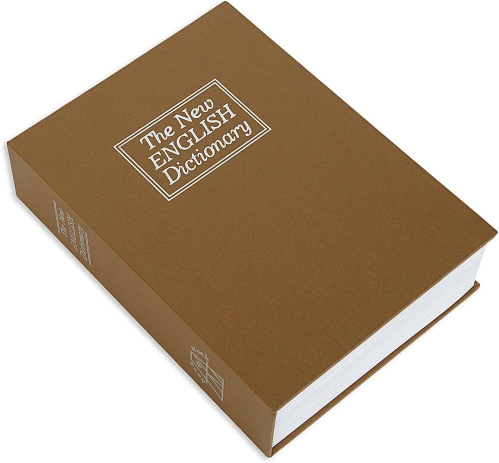 Bulldog BD1182 Book Safe Brown
