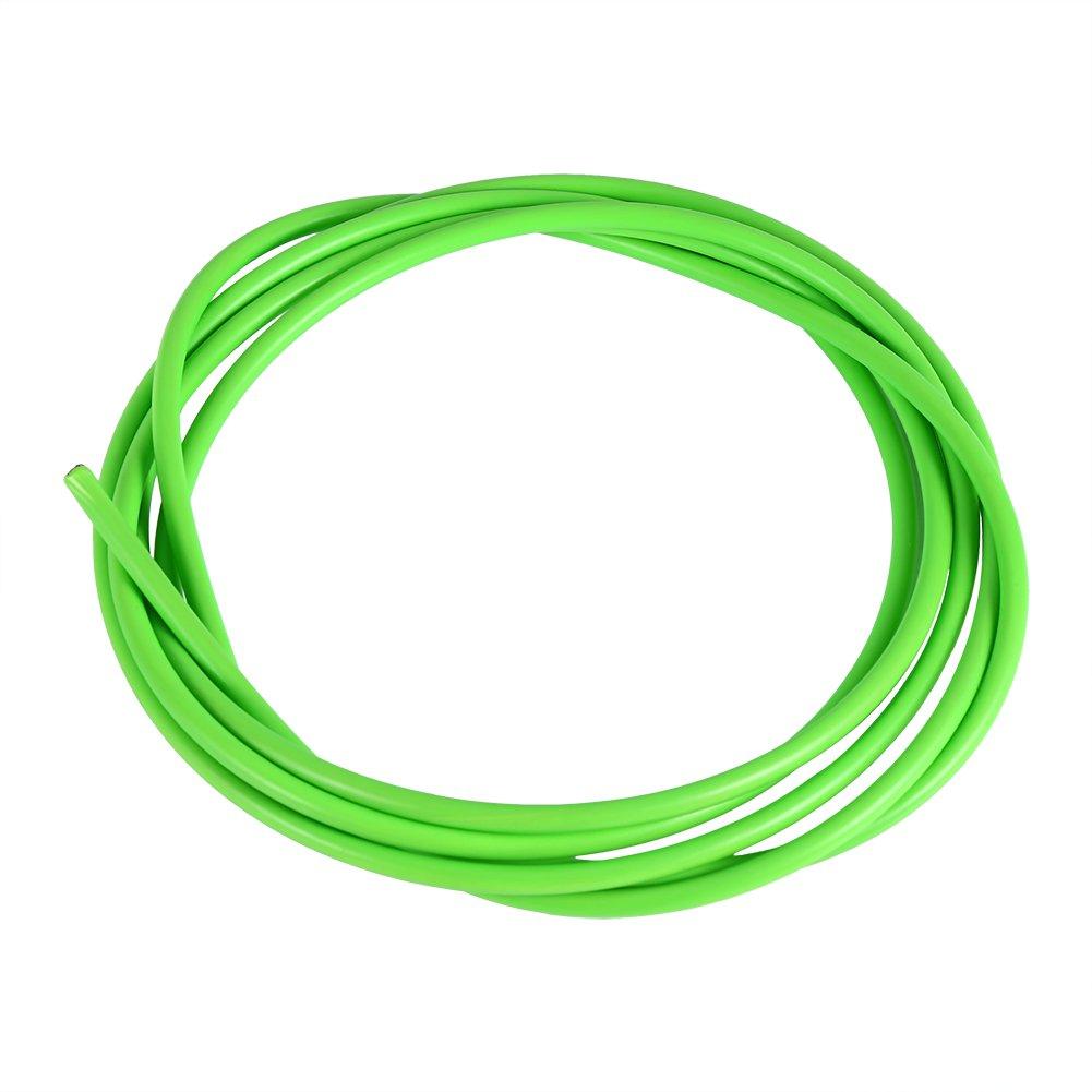 Qii lu Cable de Freno de Bicicleta Cable de Acero para Cambio de Bicicleta 2M Cable de Freno de Bicicleta Carcasa Kit de Manguera Accesorios para Bicicleta de monta/ña
