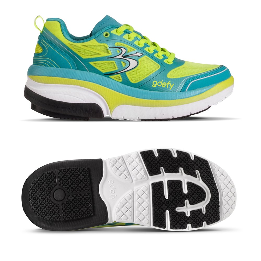 Gravity Defyer Women's G-Defy Ion Multi-Colored Athletic Shoes 10 M US Comfortable Running Shoes by Gravity Defyer (Image #2)