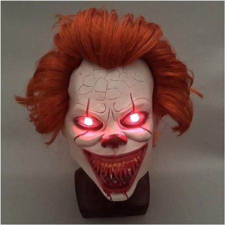 WANA Maschera in Lattice Alieno Maschera di Halloween Traspirante a Pieno Facciale Maschera di Travestimento Maschera Spaventosa Fancy Dress Party Puntelli Cosplay Maschera Fantasma