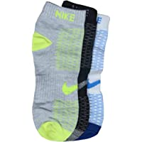 Nike Sports High Performance Moisture-Free Cotton Ankle Socks for Men and Women, Free Size (Pack of 3)