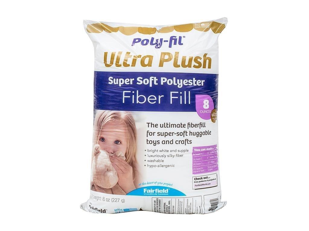 Fairfield Poly Fil Premium Fiber Fill, 8-Ounce Fairfield Processing SF8S