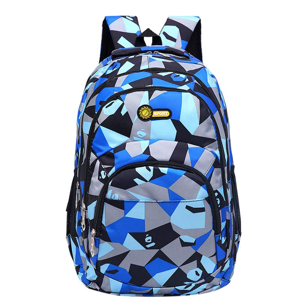 Backpack Teenage Girls Boys School Backpack Camouflage Printing Students Bags Lightweight Backpack for Women Men Hot Sale Clearance