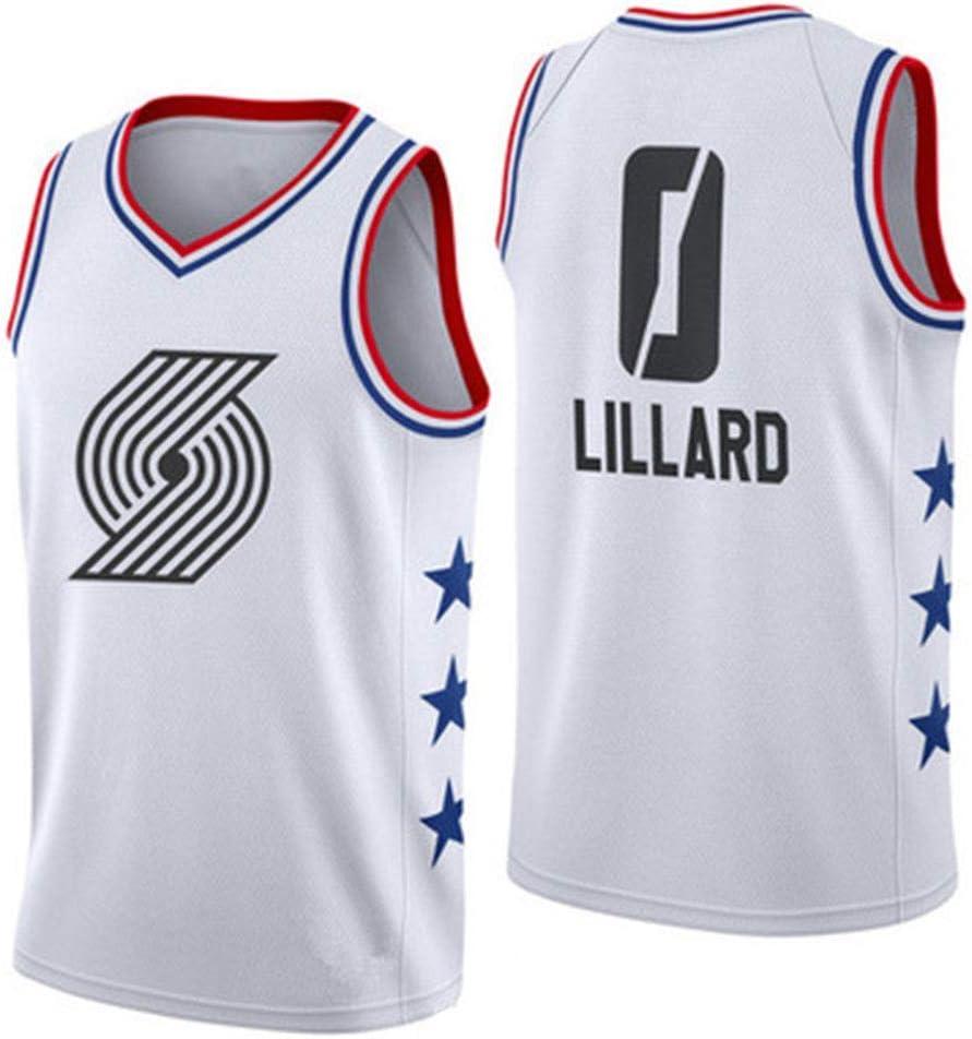 Damian Lillard #0 Portland Trail Blazers Basketball Men Stitched Jerseys