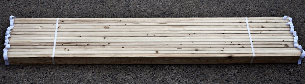 CPS Wood Products Bunkie Boards Bed Frame, Full