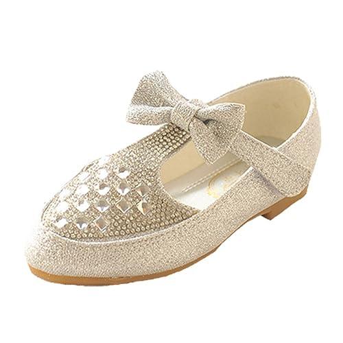 Opsun Día De Brida Ceremonia Niños Del Bailarinas Chicas Calzado gY6b7yvf