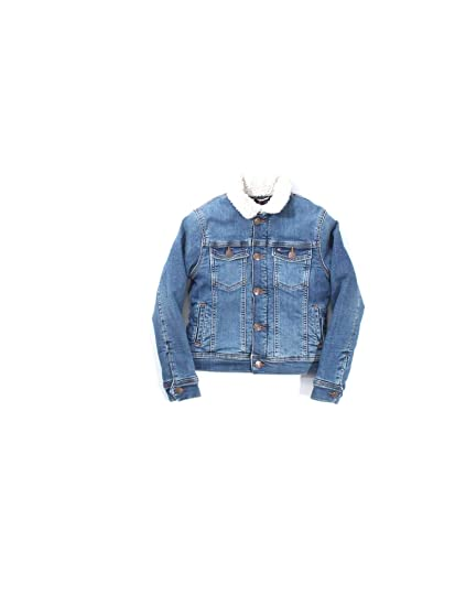 5ccc31826baba Tommy Hilfiger KB0KB04314 Jeans Jacket Boy Blu Denim 12A  Amazon.co ...