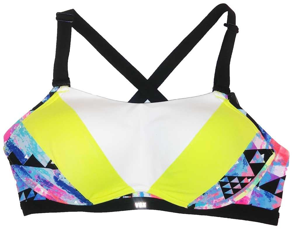 Victoria's Secret The Ultimate Maximum Support Sport Bra Colorblock Multi 34D