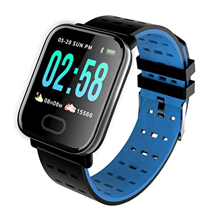 Amazon.com: Teepao A6 Smart Watch Blueteeth Smart Watch for ...