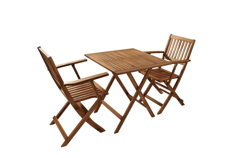 xxs balkongruppe 2 camelia akazie 3 tlg akazieholz. Black Bedroom Furniture Sets. Home Design Ideas