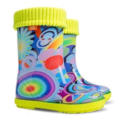 Protección contra la lluvia de los niños Atlantic Crafts botas de nieve los niños calcetines de