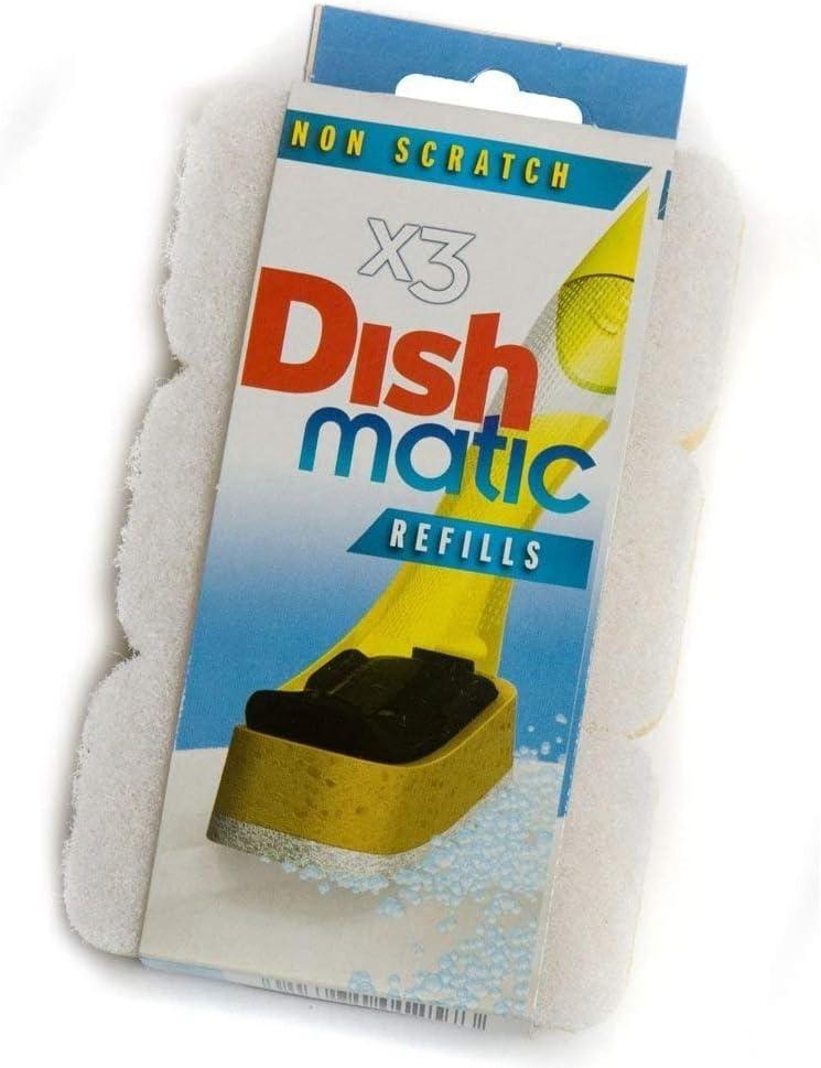 3/no cero Dishmatic blanco recambio esponjas