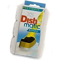 3no cero Dishmatic blanco recambio esponjas