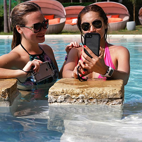 Catalyst Water Proof Shock Resistant Case for Apple iPhone 7 (Stealth Black) by Catalyst (Image #7)