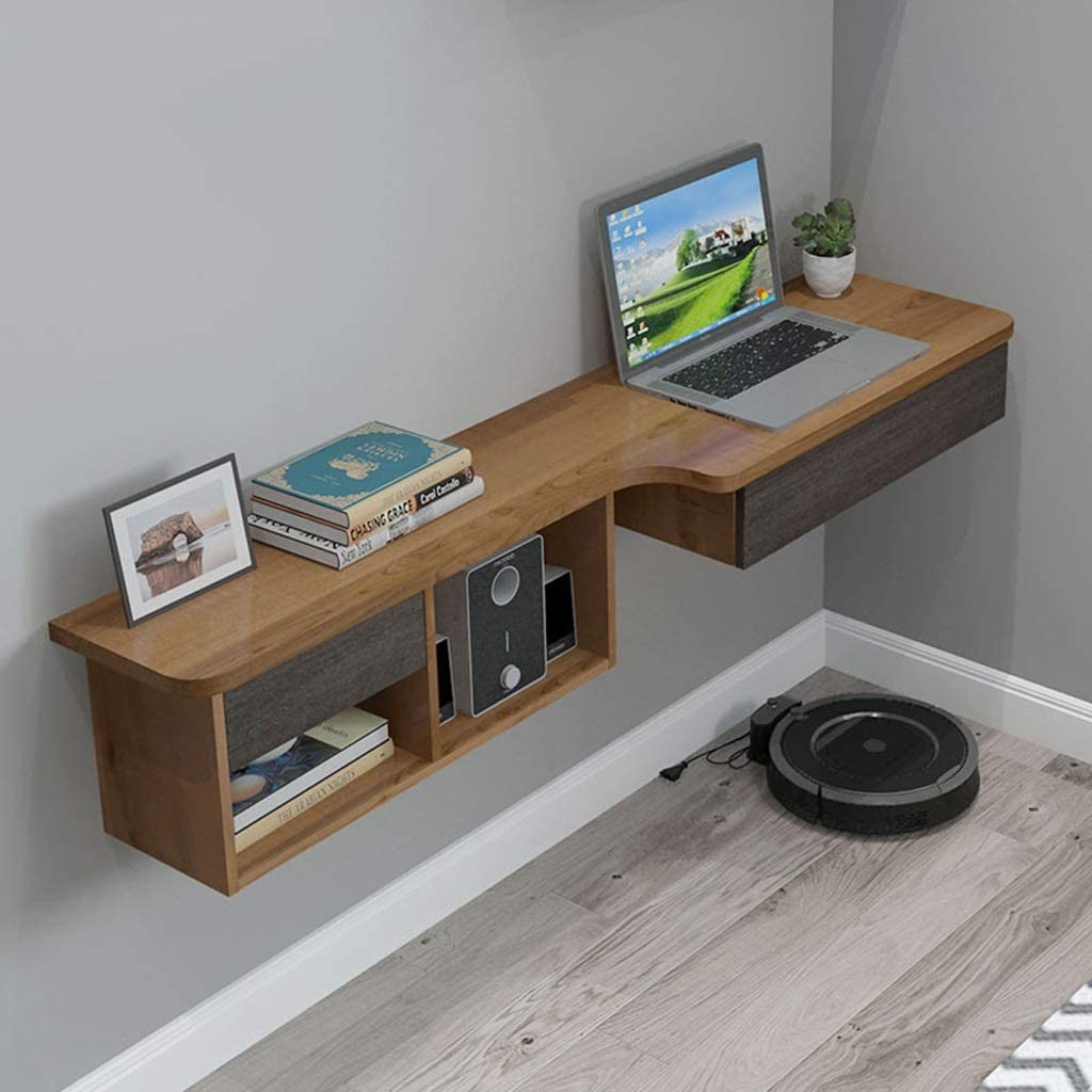 - Amazon.com: Floating Shelf Wall Mounted Table Floating TV Stand TV
