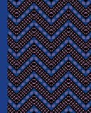 Sketch Journal: African Pattern (Blue) 8x10 - Pages are LINED ON THE BOTTOM THIRD with blank space on top (8x10 Patterns & Designs Sketch Journal Series)