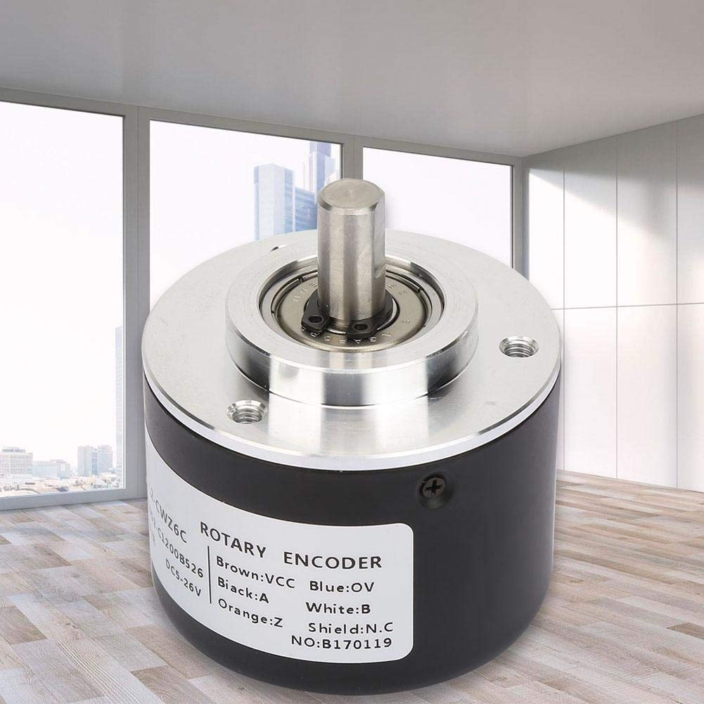 600P//R E6C2-CWZ6C Incremental Rotary Encoder,General-Purpose Encoder 50mm Diameter for Arduino