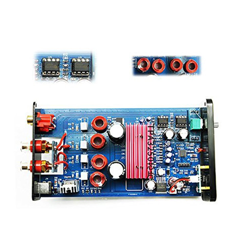 Dilvpoetry Fx 502spro Hifi Audio Stereo Digital Class D Amplifier Circuit Tpa3116d2 Tpa3118d2 Subwoofer 24v 4a Dc Adapter Tpa3250 Mini Portable 2 Channel Home Preamplifier Power Amp