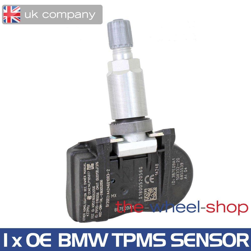 1 x OE BMW Tyre Pressure Monitoring Valve / Sensor for 1 series F20 F21, 2 series F22 F23, 3 series F30 F31, 4 series F32 F33, X5 F15, 2014 onwards Conti VDO