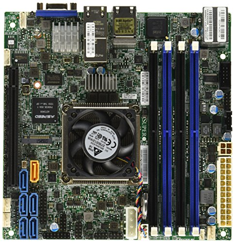 Supermicro Mini-ITX 2133/1866/1600MHz ECC DDR4 Single socket FCBGA 1667 Motherboard (X10SDV-TLN4F-O) (64 Bit Java For Minecraft Windows 7)