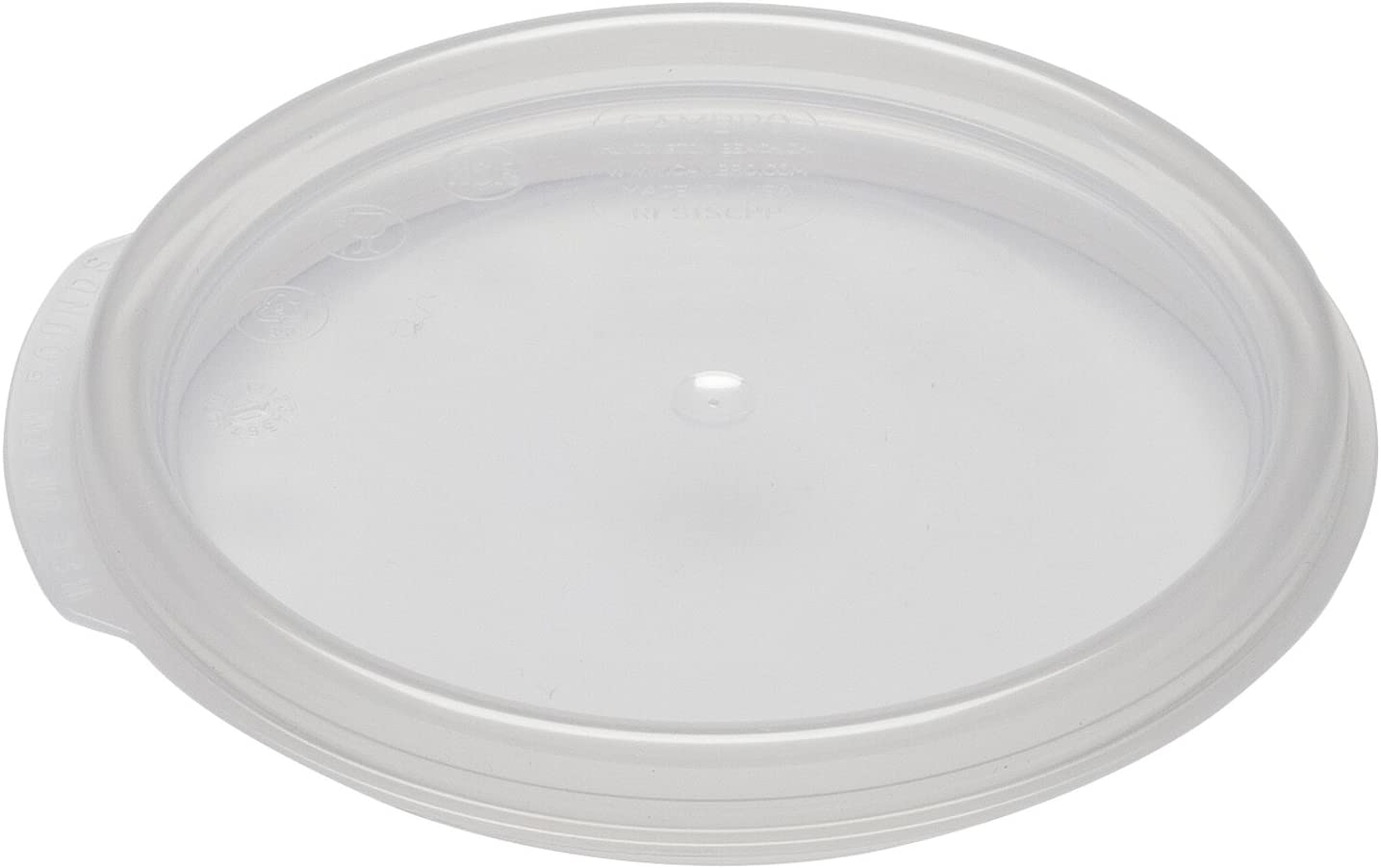 Cambro Camwear Seal Cover for 1 Quart Camwear Round Food Storage Containers, Clear