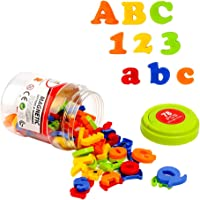 HOONEW Magnetic Letters Numbers Alphabet Plastic ABC 123 Fridge Magnets for Vocabulary Educational Toy Set Preschool…