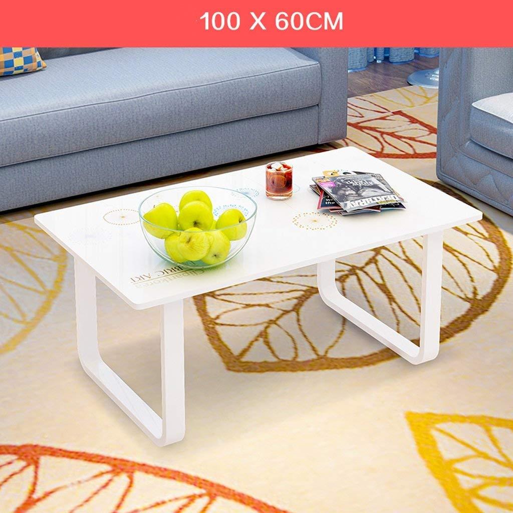 QYM モダンリビングローテーブルコーヒーテーブルシープルオフィスローテーブルスクエア100 * 60 c (Color : C)  C B07RPZK6L2
