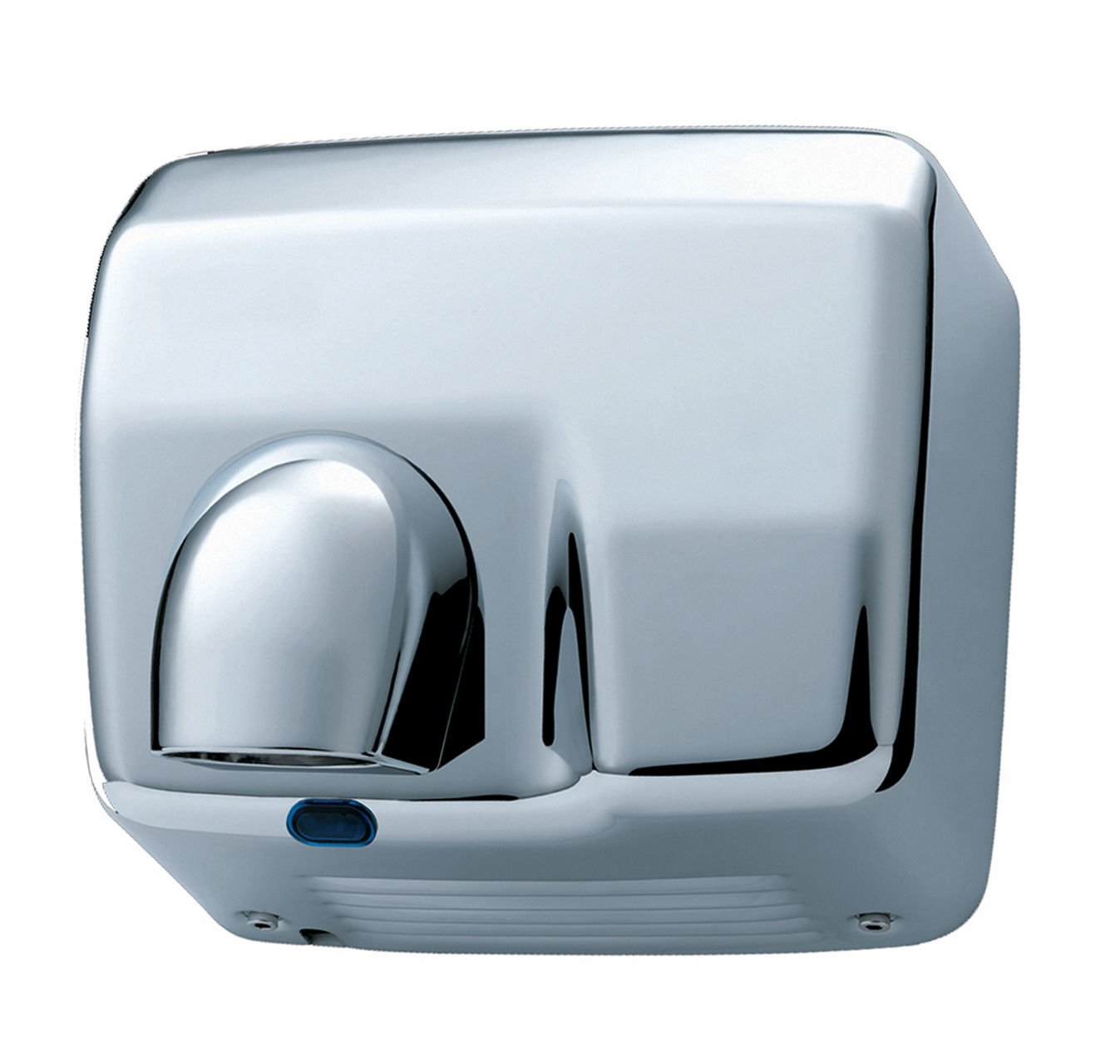 2500 Watts Electric Nozzle Hand And Face Dryer - Heavy Duty Automatic Drier - Chrome Washroom Hub