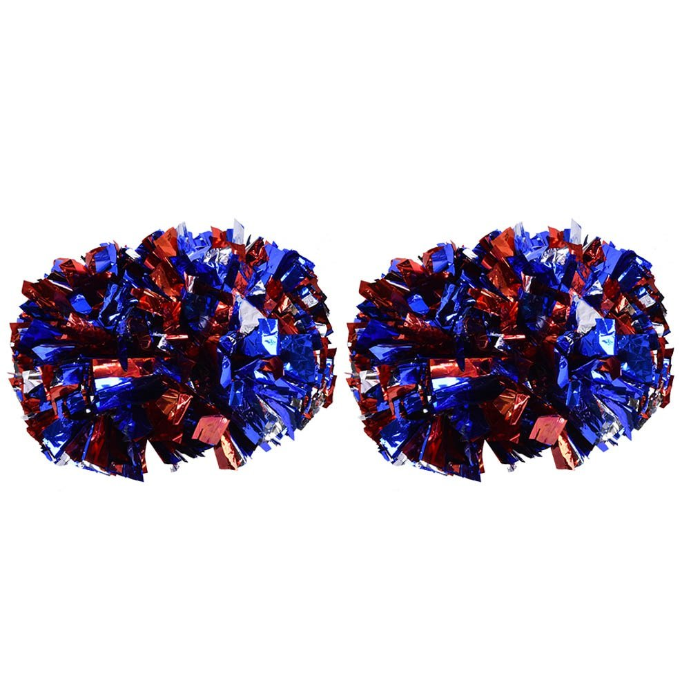 Double Flower Ball f/ür Sportspiele B/ühnenauftritte Super Large Dance Spot Zetiling Cheerleading Poms Stadien Festivals Partys