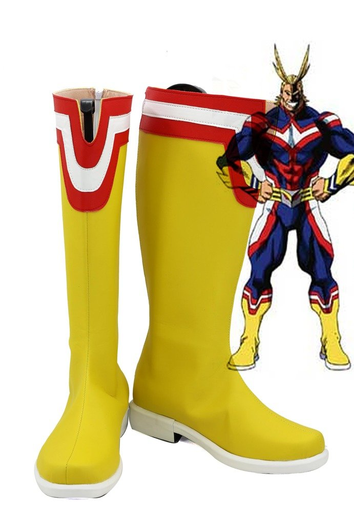 My Hero Academia All Might Cosplay Shoes Boots Custom Made 10.5 B(M) US Female
