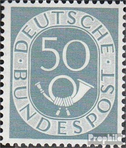 Prophila Collection BRD (BR.Deutschland) 134 1952 Posthorn (Briefmarken für Sammler)