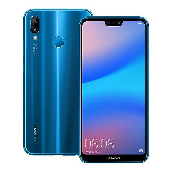 Huawei nova 3e (ANE-LX2J) 4GB/64GB 5 84-inches Factory Unlocked -  International Stock No Warranty (Klein Blue)