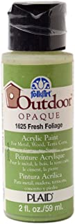 product image for FolkArt Outdoor Acrylic Paint in Assorted Colors (2 Ounce), 1625 Fresh Foliage